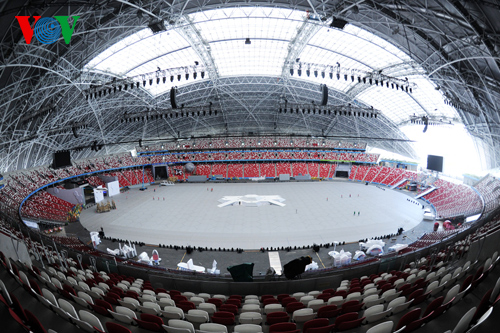 The Jalan Besar Stadium, which has a maximum seating capacity of 55,000, will host most of events including the opening and closing ceremonies, football, and athletics
