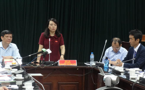 Health Minister Nguyen Thi Kim Tien