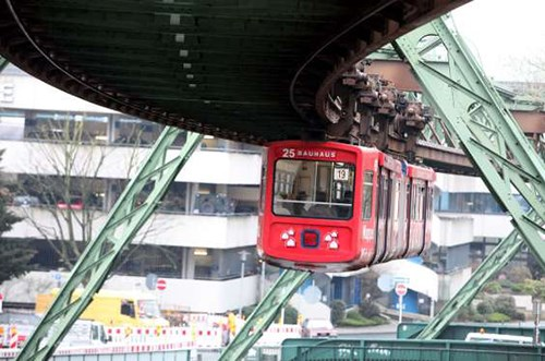 Suspension Railway in Germany (Photo Msn)