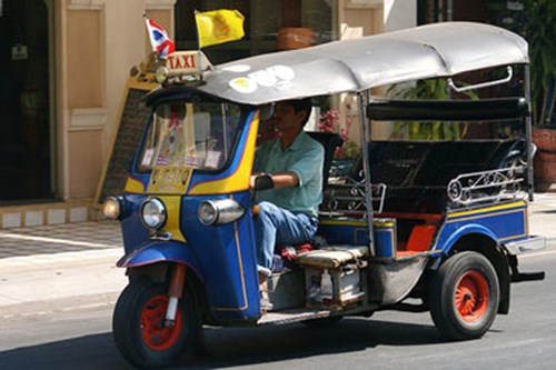TukTuk in Thailand (Photo: Bootsnall)