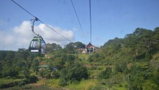 A cable car system linking An Thoi Town and Hon Thom Isle on Phu Quoc Island will be built. (Photo: KK)
