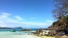 Sao Beach on Phu Quoc Island in the southern coastal province of Kien Giang. The island has attracted a huge number of tourism projects in recent years, with 136 now being implemented at a total registered capital of VND144 trillion (US$6.6 billion). Photo: VNS