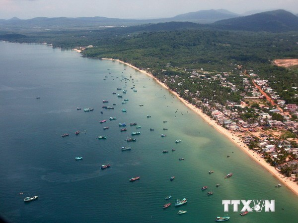 A corner of Phu Quoc island. (Source: VNA)